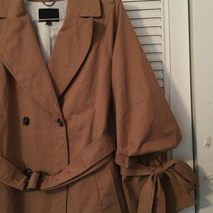 Banana Republic camel trench coat